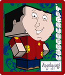 Quagmire Cubeecraft by angelyques