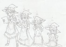 Request:Marisa Kirisame age regression by wongsj