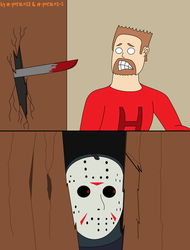 Here's Jason parody of the Shining by h-perales3