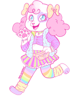pop poodle by AndriaMiles