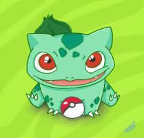 Bulbasaur by AngelJ7