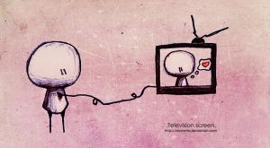 .Television screen. by Nonnetta