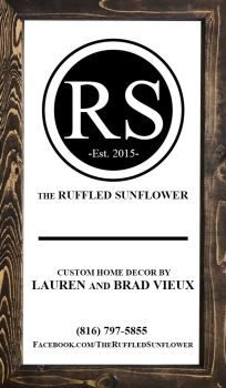 The Ruffled Sunflower - Logo and Business Card by floweringgarlic