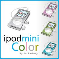 Ipod Mini Color Icon by weboso