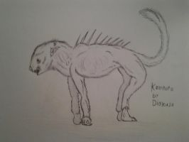 Cryptid for documentry: Kalonoro by Trendorman