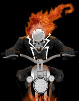 Ghost Rider by GordZee