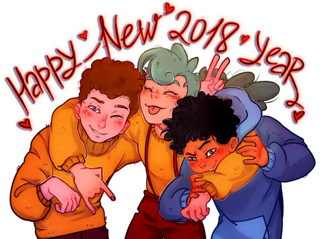 happy new 2018 year camp by Liprikon