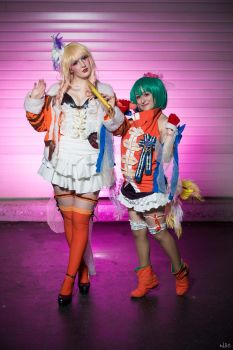 Sheryl Nome and Ranka Lee by Amu-chii-cosplay
