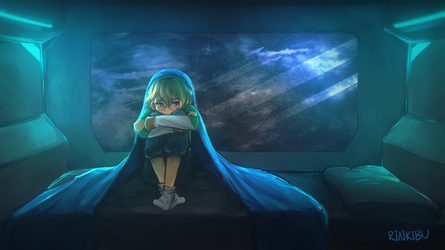 Space is a Lonely Place by Rinkibuu