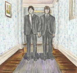 Lennon McCartney on Shining by gagambo