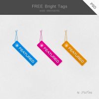 FREE Bright Tags by PixFairy