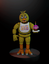 Cinema4D Chica the Chicken 2.0!! by GaboCOart