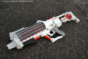District 9 Style Gun Prop by JohnsonArmsProps