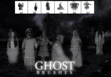 Ghost Brushes by HJR-Designs