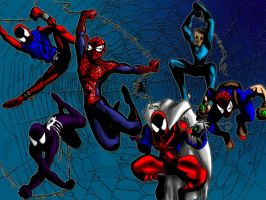 Spiderman Wall Paper by spiketherogue