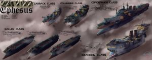 Ephesian fleet sheet by LordCarmi