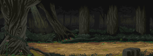 Pixel Art Forest by happy05