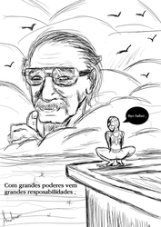 Stan Lee by Darkiganv