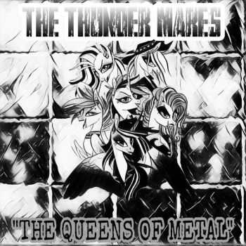 The Thunder Mares (Metal Band CD Cover) by MettaraTheFabulous
