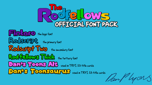 The Rodfellows Official Font Pack by DLEDeviant