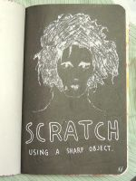 Scratch - Wreck This Journal by JennyArchibald
