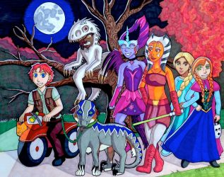 Trick or Treat 2015 by NiaraSusarin