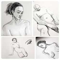 Life Drawing dump 3 by dhulteen
