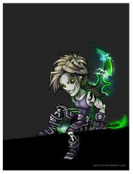 undead rogue. wow by mart-art