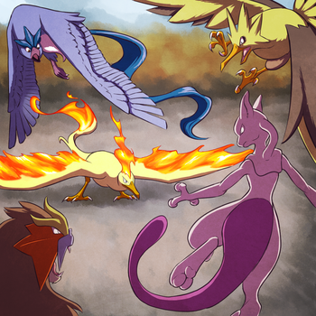 18. The Titans of the Elements by Chibi-Pika