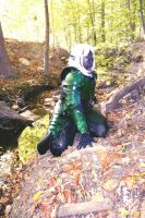 DRizzt costume by RollerBoyjeremy