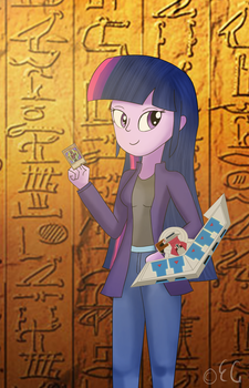 Yu-Gi-Oh Duelist - Twilight Sparkle by EGStudios93