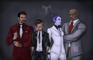 Talon + Suits by GiannaRoseH