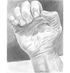 Drawing fingers drawing hand by mozer1a0x