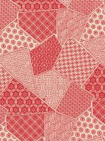 Red Print Patchwork - free to use by amberwillow