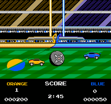 Mannfield - Rocket League [NES] by DaLivelyGhost