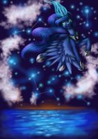 Luna - Princess of The Night by Earthpone