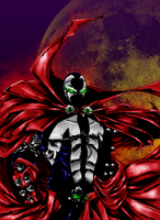 Spawn moon by HOLOCGRAM