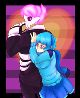 Lewis and Vivi - finished by RenonsPrints