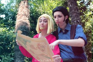 Road to El Dorado - Miguel and Tulio by giuccin