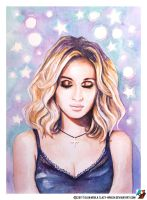 Portrait of Svetlana Loboda #2 by lazy-brush