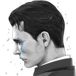 Abused [RK800: Connor] by ChromaMode