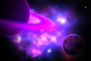 Purple Planets by ntaylor1981