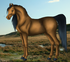 Example horse by Coulsonite