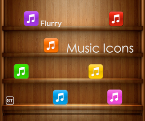 Music Icons. 'Flurry Style' by geoturk