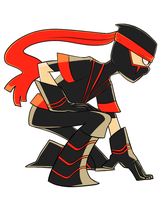 first NINJA by CrescentMarionette