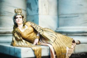 Cleopatra Reclined by temperance