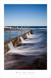 Mona Vale Baths, Long Exp by MattLauder
