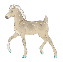 N3005 Padro Foal Design for DarkestNation by casinuba
