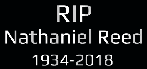 RIP Nathaniel Reed 1934-2018 by EarWaxKid