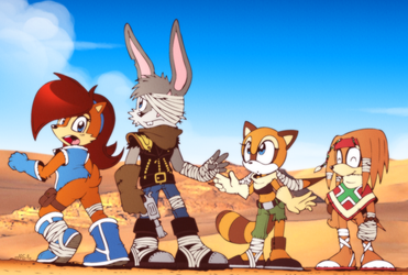 ::CE:: Badlands Freedom Fighters by FOX-POP